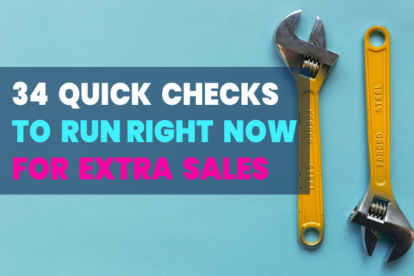 34 Quick Usability Checks to Run Right Now for Better Ecommerce