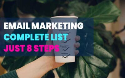 8 Step – Complete Email Marketing Checklist